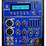 """Rockville 15"""" Powered 1000W DJ PA Speaker"""