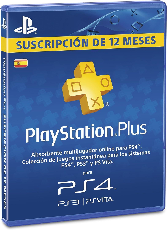 PlayStation Plus - Tarjeta De Prepago Para 365 Días (Año 2012): Amazon.es: Videojuegos