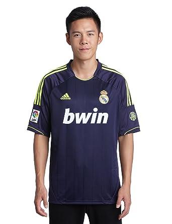 Real Madrid C.F. Adidas - Camiseta de fútbol, 2ª equipación, 2012-13, talla XXL: Amazon.es: Deportes y aire libre