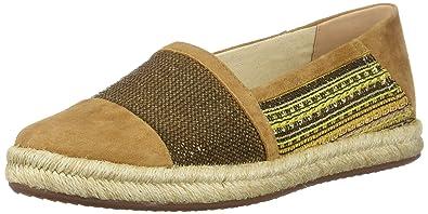 Geox modesty sneaker slip on donna tessuto suola corda
