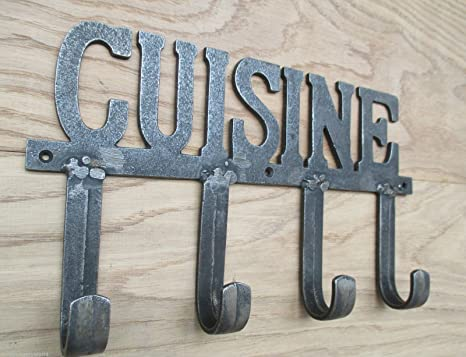 Ironmongery World® Cocina - Perchero de hierro fundido ...