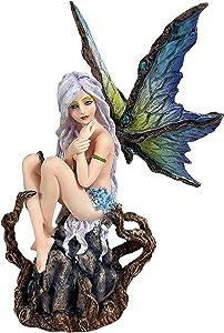 Urbalabs Rainbow Tree Fairy Statue 8
