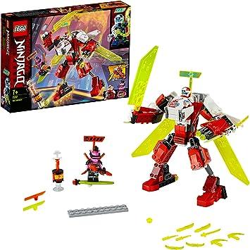 Oferta amazon: LEGO Ninjago - Robot-Jet de Kai, Set de Construcción 2 en 1, Incluye dos Minifiguras de Personajes de la Serie, Recomendado a Partir de 7 Años (71707)