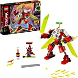 LEGO Ninjago 71707 Kai's Mech Jet Building Kit (217 Pieces)