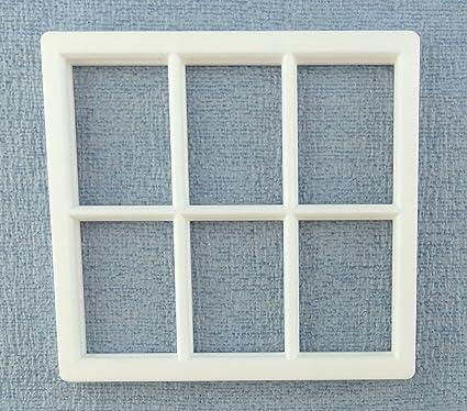 Amazon Com Melody Jane Dolls House White Plastic Georgian Window