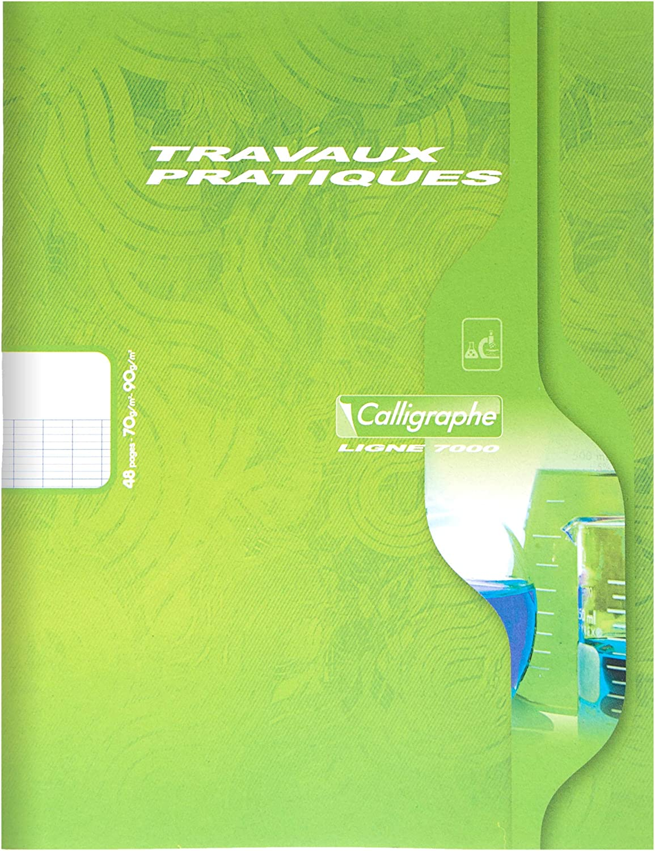 colores surtidos 24 hojas//48 p/áginas 1 unidad Cuaderno A5 Clairefontaine 2590C Calligraphe 7000 17 x 22 cm
