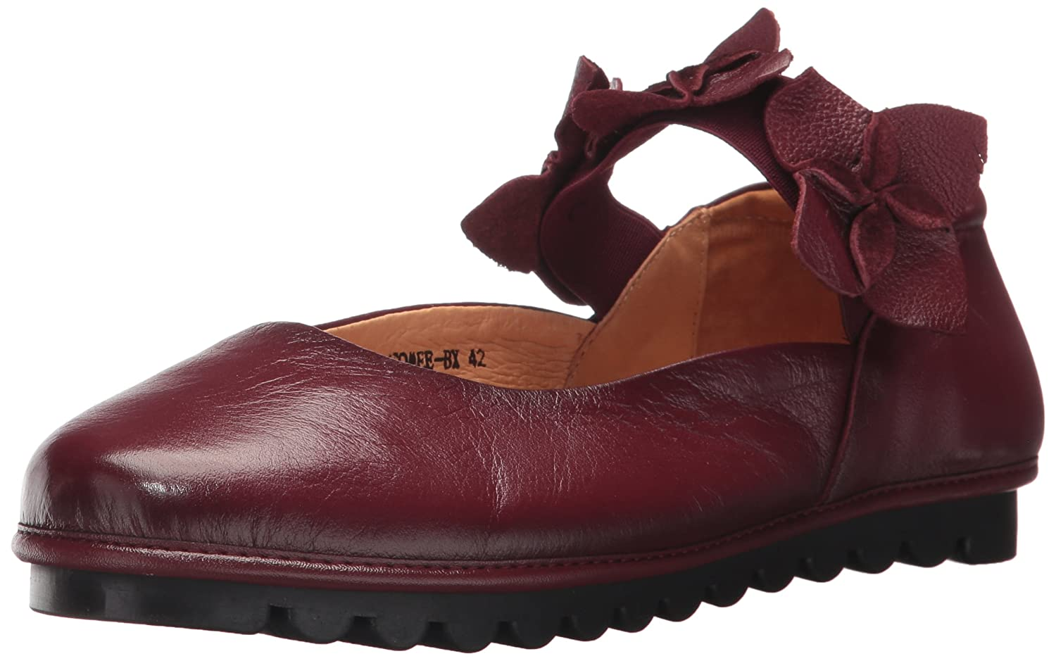 L'Artiste by Spring Step Women's Tomee Mary Jane Flat B06XK5TFRH 36 EU/5.5 -6 M US|Bordeaux