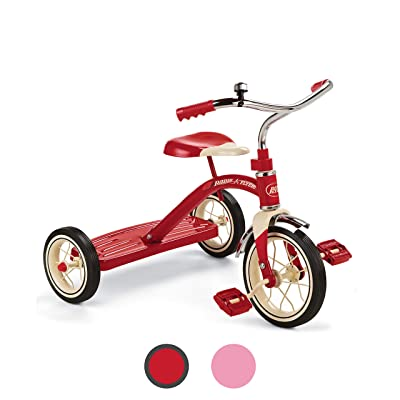 "Radio Flyer Classic Red 10"" Tricycle: Toys & Games"