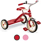 "Radio Flyer Classic Red 10"" Tricycle for Toddlers ages 2-4"