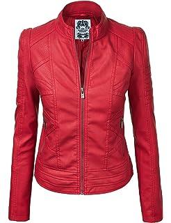 37a00dcbbd8 Harve Bernard Women s Vegan Leather Jacket at Amazon Women s Coats Shop