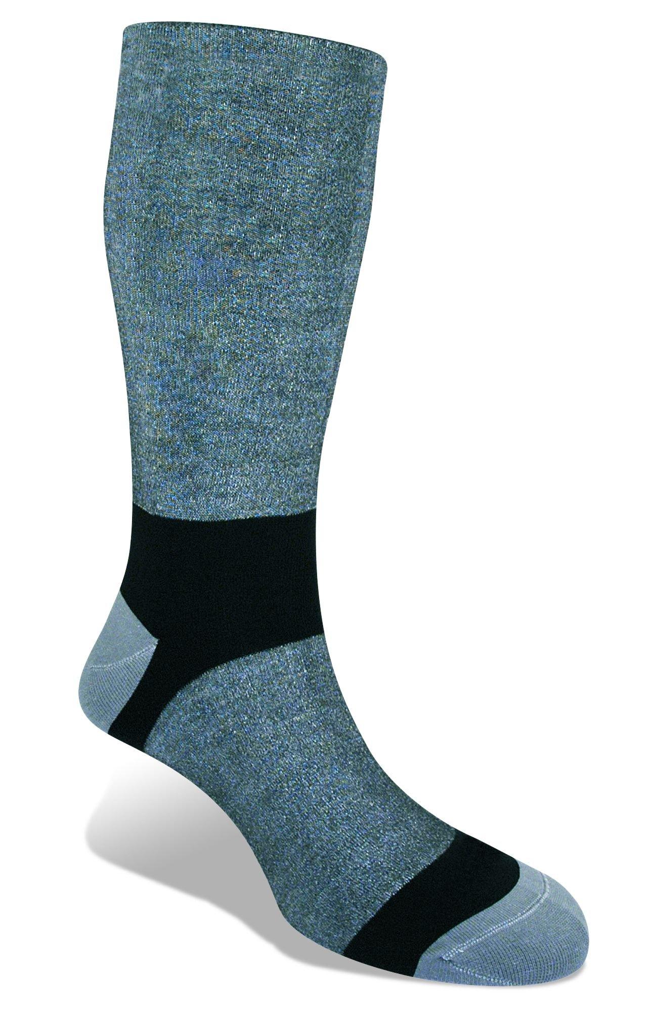 Bridgedale Ultralight Coolmax Liner Socks (2-Pack), Grey, Small by Bridgedale