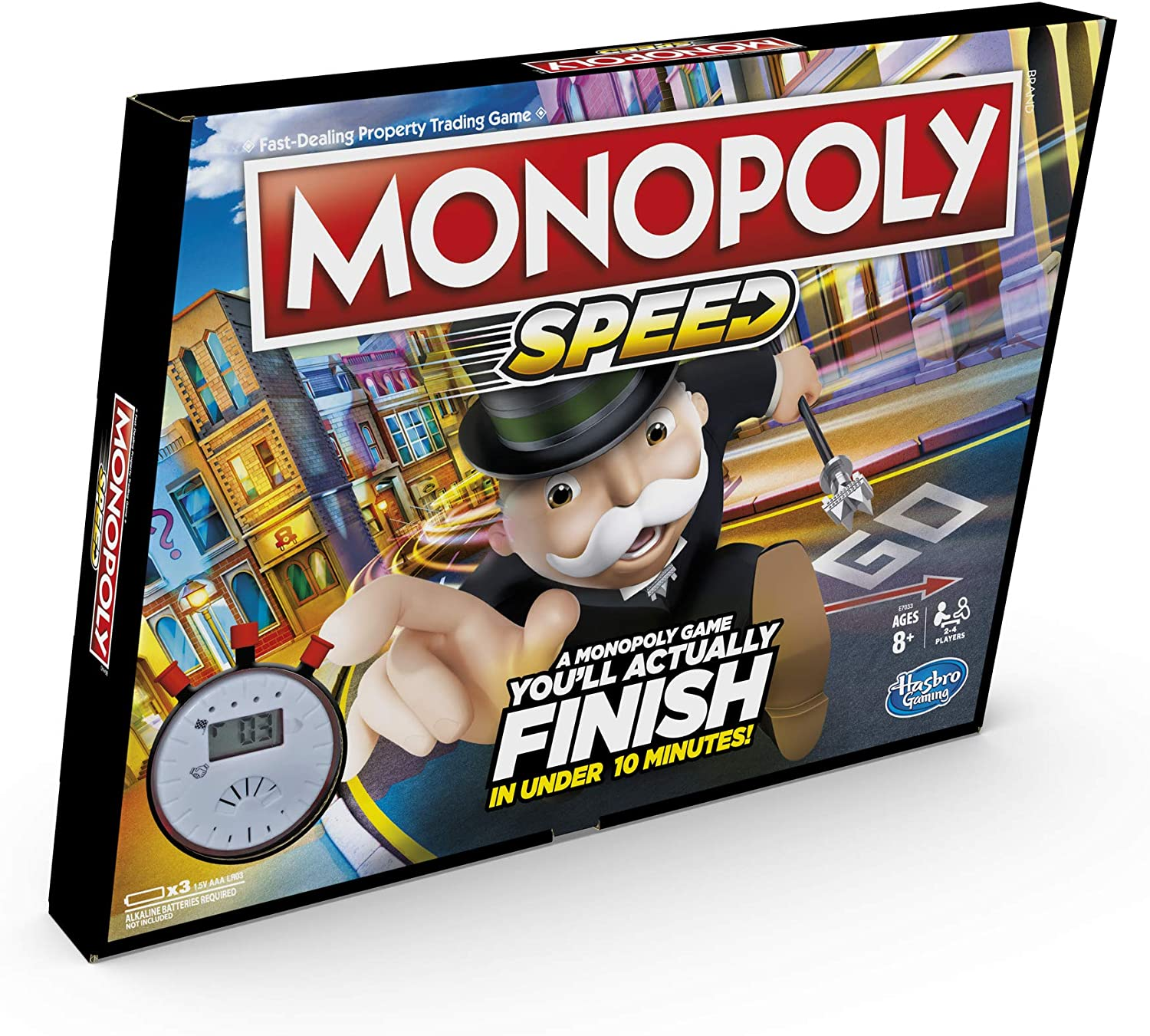 Monopoly Speed Board Game: Amazon.es: Juguetes y juegos