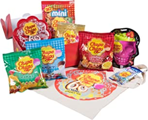 Chupa Chups Kit Découverte Collector 60 Ans avec 1 Sac Offert 1,44 kg de sucettes