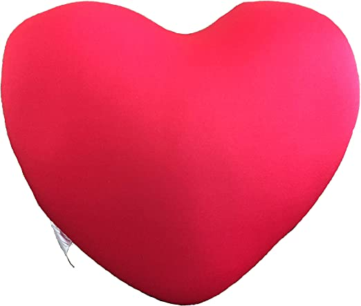 Mushy Pillows Heart Shaped Microbead Pillow Soft Comfortable Perfect for Any Romantic Occasion