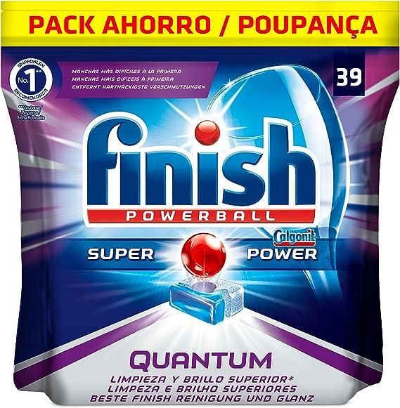 Finish Quantum Regular Pastillas para Lavavajillas - 39 pastillas ...