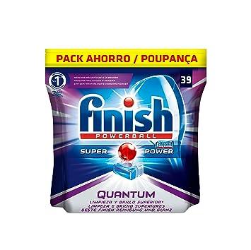 Finish Quantum Regular Pastillas para Lavavajillas - 39 pastillas