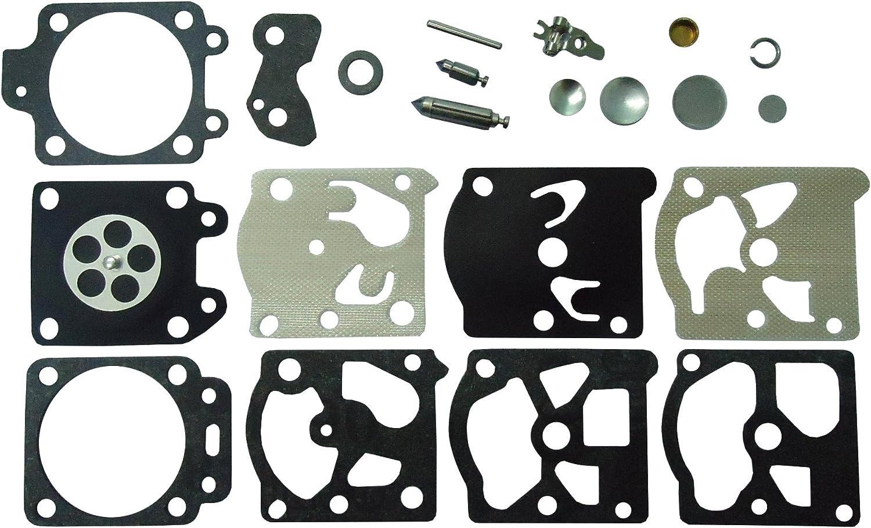 Carburetor Carb Rebuild Kit For Husqvarna Walbro K20-WAT WA //WT Partner K500//255