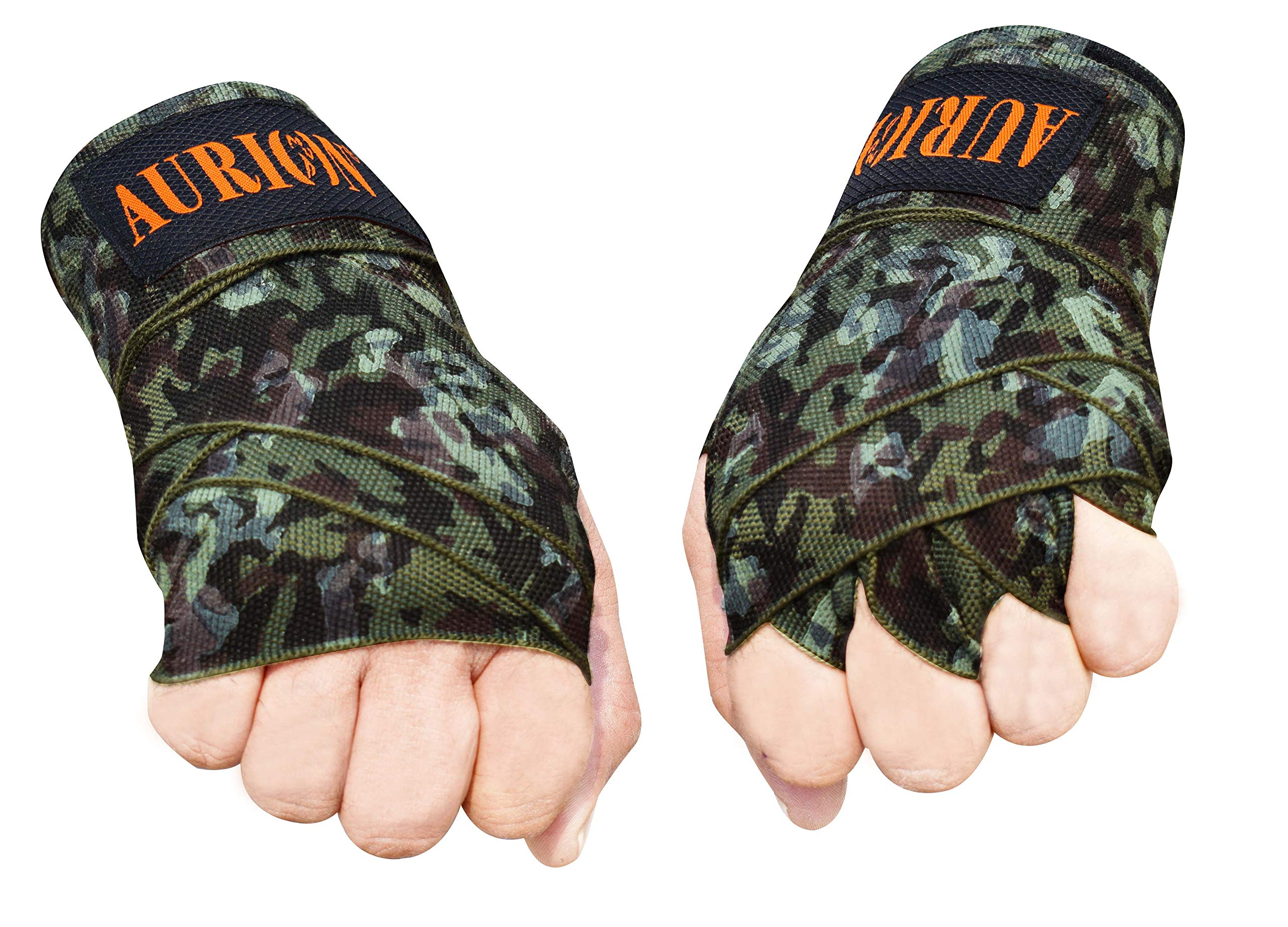 Amazon price history for Boxing Hand Wraps Mexican Bandage Muay Thai PRO Blood Red Wrap Kickboxing Glove Stretchy Bandages MMA Training Workout Cotton Twin Pack (CAMO-Green, 108 INCHES)