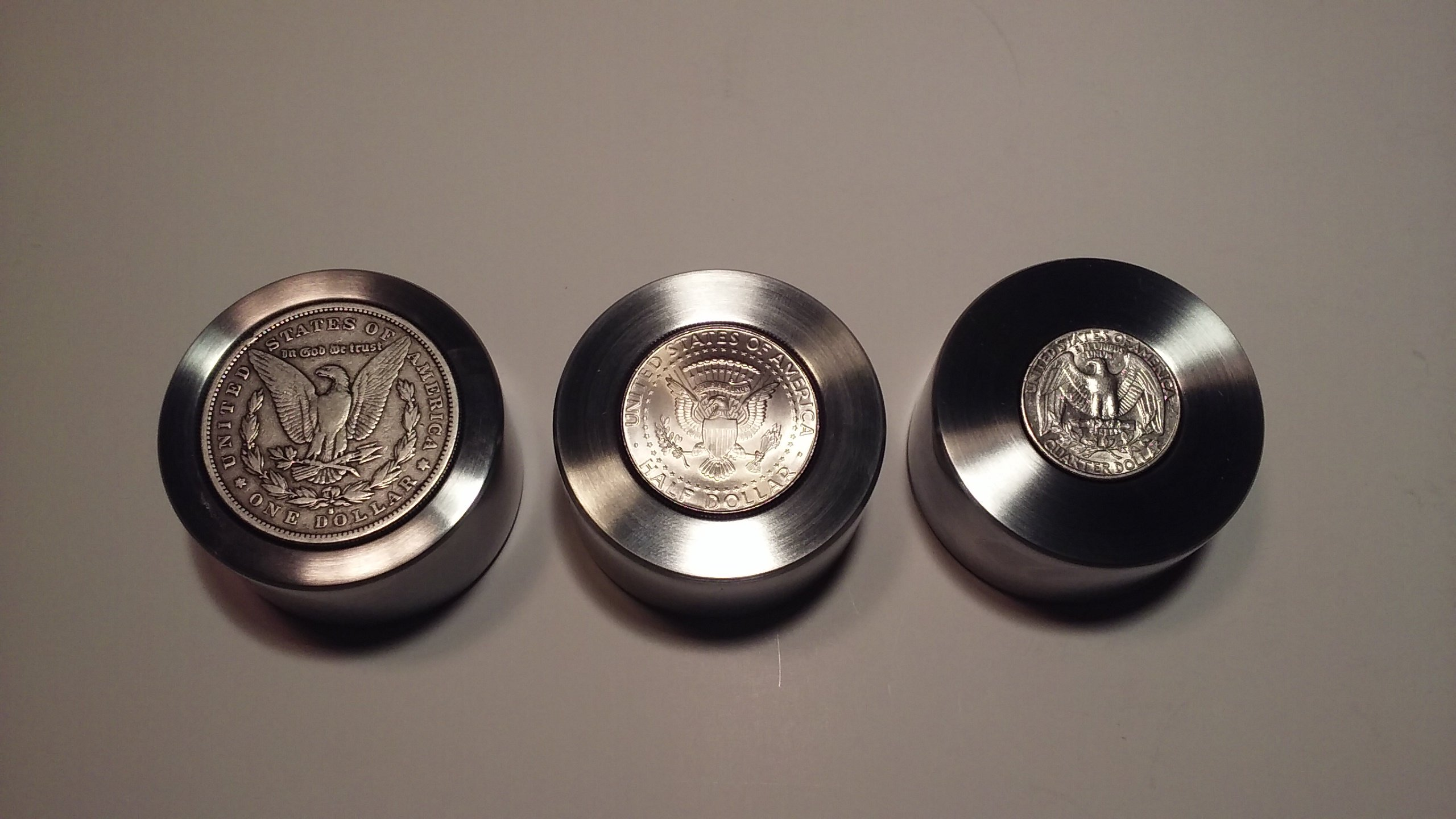 Universal Reduction Die Set For Morgan, 50 Cent. Gold Dollar, Quarter and More! by Austin Swenson