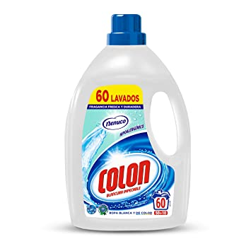 Colon Detergente para Ropa Líquido Fragancia Nenuco Hipoalergénico ...