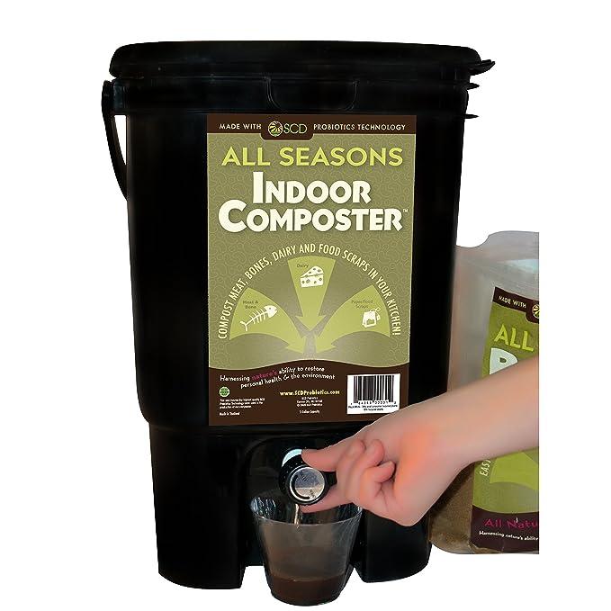 Amazon.com: SCD Probiotics compostador de interior para ...