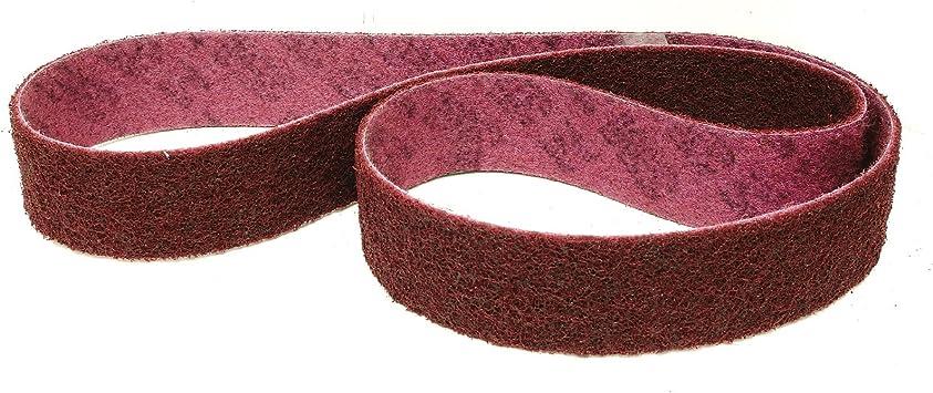 Juego de 4/Premium Set 3/m Scotch-Brite Fieltro banda//cinta abrasiva SC de BL | 50/x 1020/mm, por ejemplo para Metabo BS 175//BS 200/| por una banda de grano a de CRS, a de Med a de vfn y a de SFN