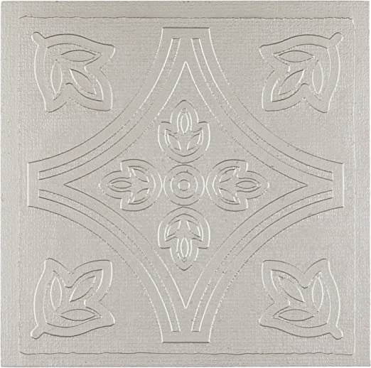 4 x 4 x 1.5 mm Thick, 4 by 4-inch 27-Pack Achim Home Furnishings WTV402AC10 Nexus Accent Wall Tile Terra