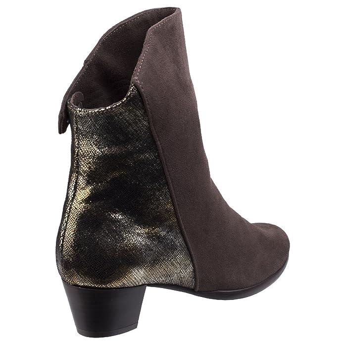 Riva Femmes Anita Cheville Bottes Bottines Chaussures Daim Fermeture À Éclair 2Y6aB5