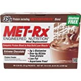 MET-RX Meal Replacement,Chocolat, 40 PK