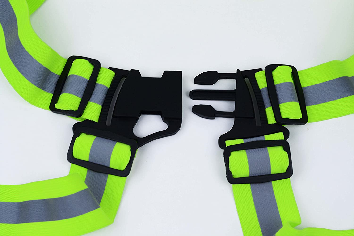 ,Reflective Running Vest Cycling DREAM BEAR360/°High Visibility Elastic Reflective Vest 2-pack and Hight Recommendation Put in Your Car for Safe Disposal of Accident Dream Bear Trading Co Ltd LYSB018QM2ZTC-SPRTSEQIP Motorcycle