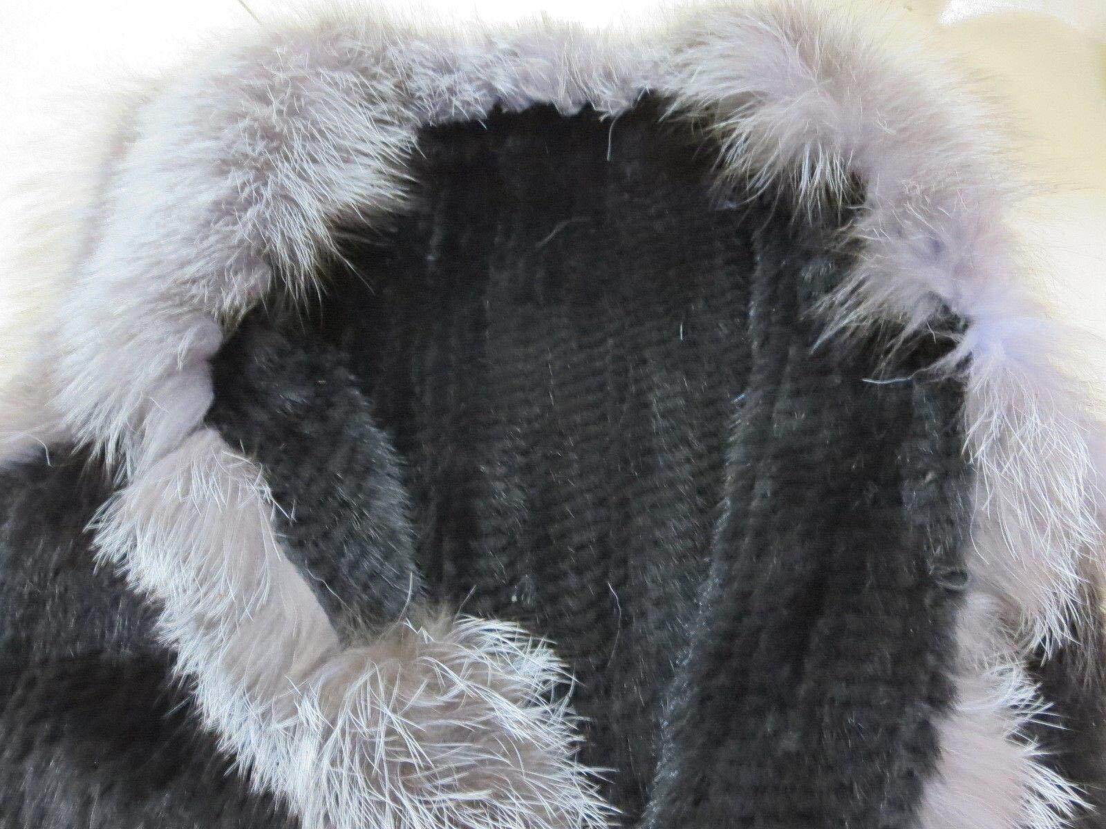 Women's Elegant Real Mink Fur Vest With Sliver Fox Fur Collar (Mink Fur + Sliver Fox Fur Vest) by DTDYG18 (Image #6)