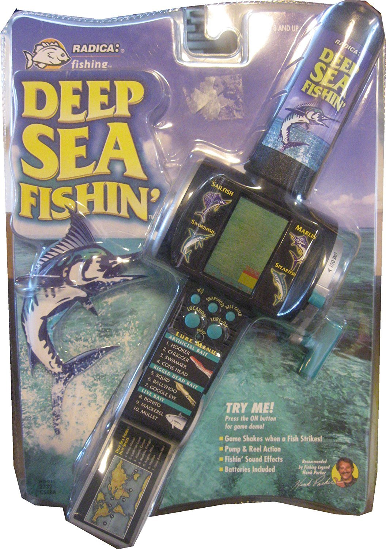 Handheld DEEP SEA FISHIN' GAME - BY: RADICA [並行輸入品] B01K1WSKGC
