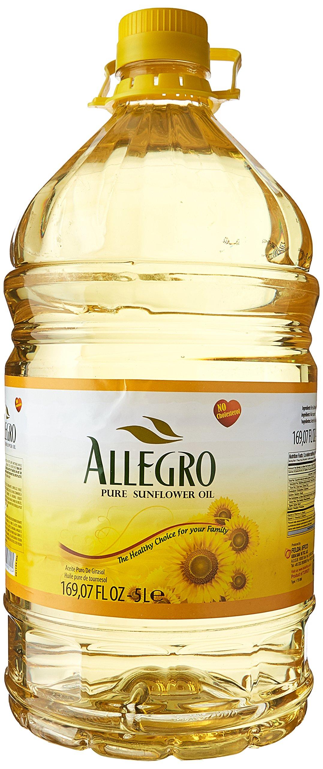 Allegro, Pure Sunflower Oil, 5 Liter(ltr)