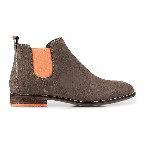 Kaufen Authentic Damen TAMARIS Stiefel Taupe,Moderne Design