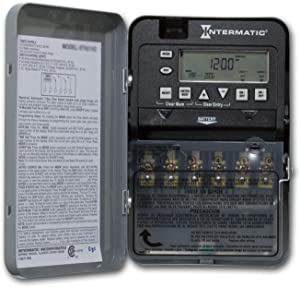 Intermatic ET1725C Time Switch, Gray