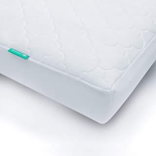 Newton Waterproof Twin Mattress Pad Cover | 100% Breathable, Proven to Increase Air Circulation, Universal Fit, 100% Washable, Hypoallergenic, Non-Toxic, Better Than Organic