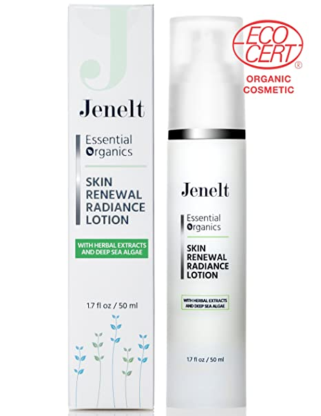 Organic Skin Renewal Radiance Lotion - Reduces Dark Spots, Improves
