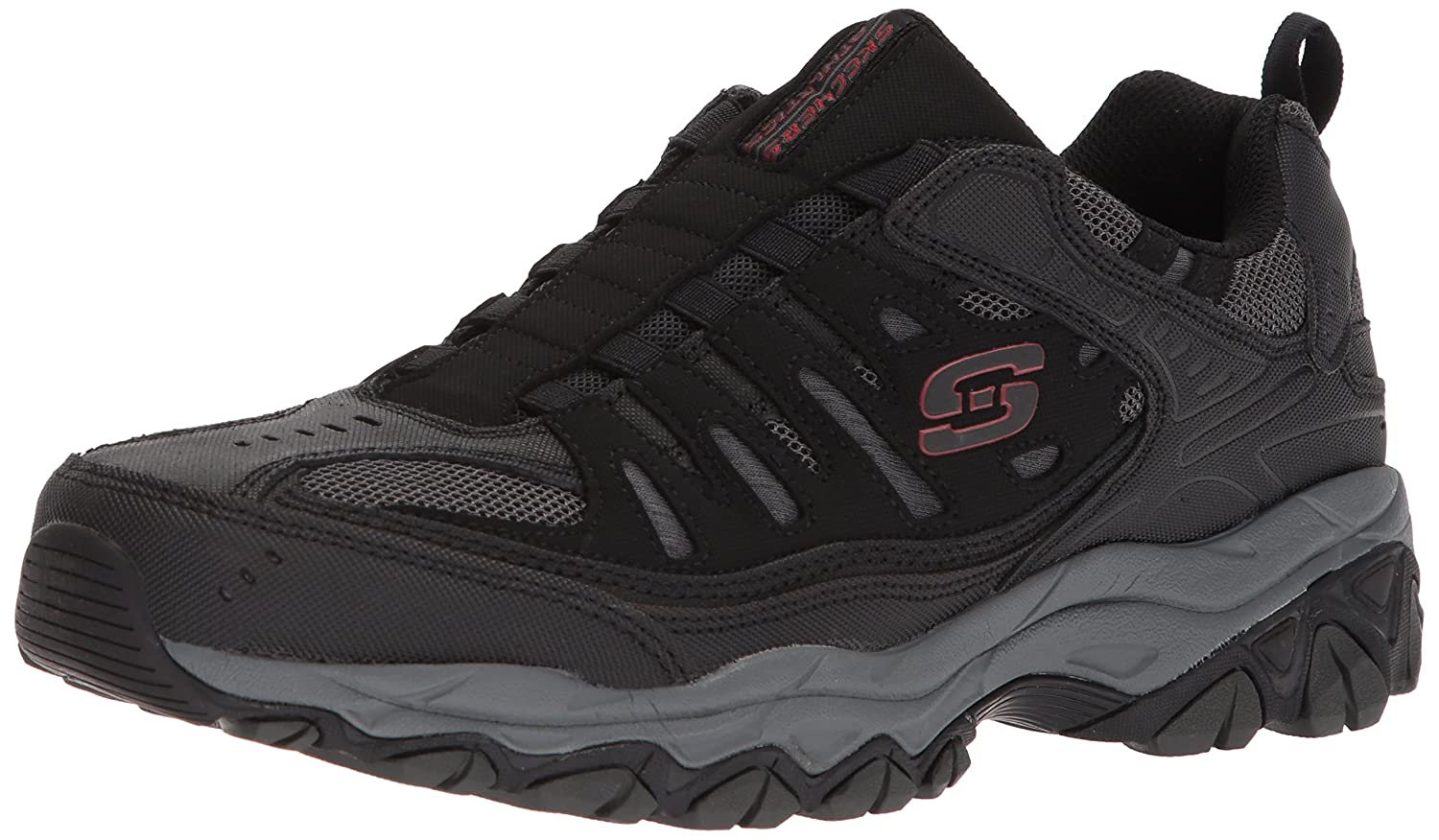 Skechers-Afterburn-Memory-Foam-M-Fit-Men-039-s-Sport-After-Burn-Sneakers-Shoes thumbnail 10