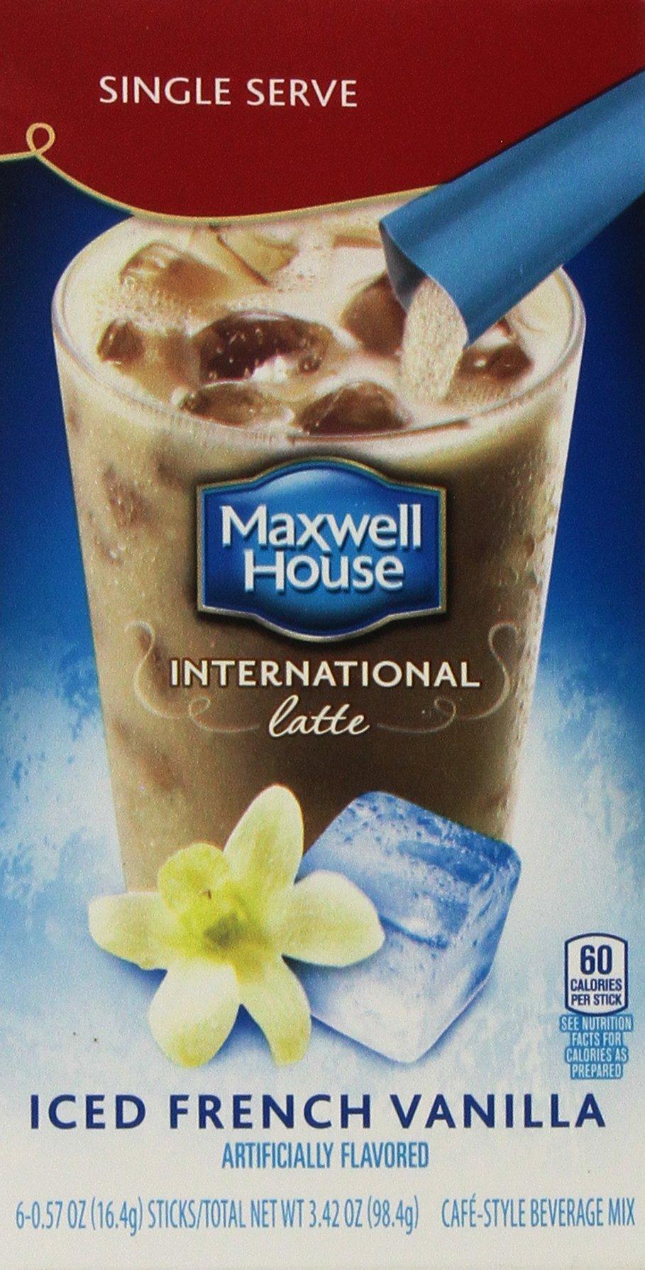 Maxwell House International Coffee French Vanilla Cafe