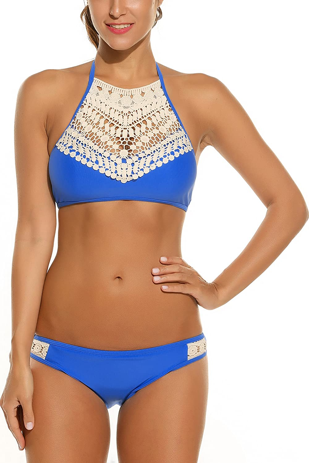 8f763542f0 Triangle Bikini Swimsuits features with adjustable shoulder strap, push up  cups with underwire for support,It is a great ...
