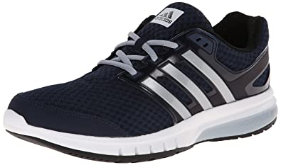 adidas Performance Men's Galaxy Elite M Running Shoe,Collegiate  Navy/Silver/Light Grey