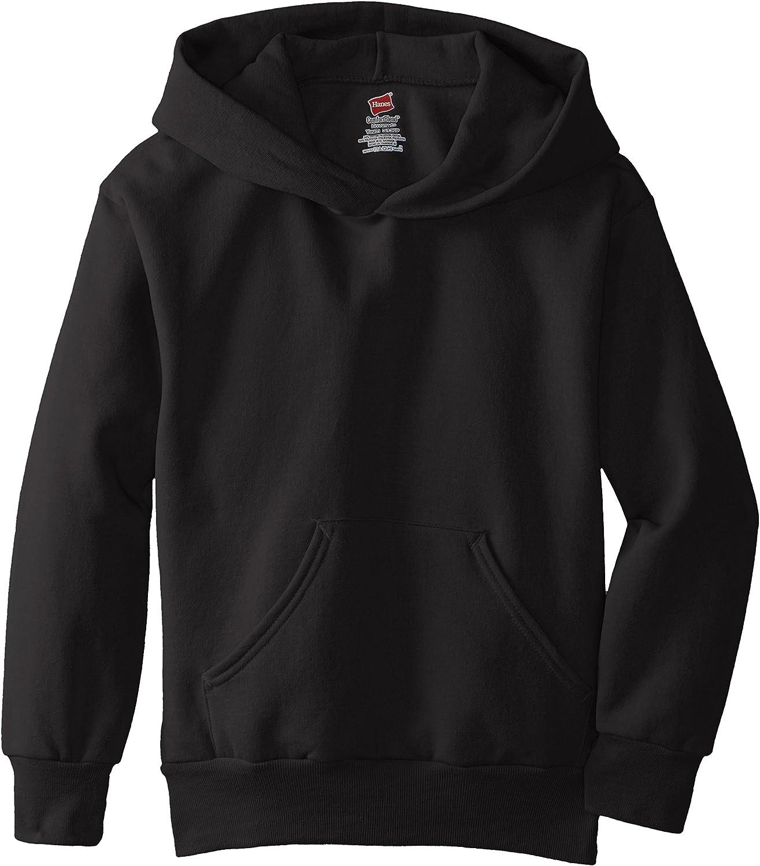 Hanes Big Boys' Eco Smart Fleece Pullover Hood: Clothing