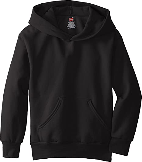 Hanes Big Boys Eco Smart Fleece Pullover Hood