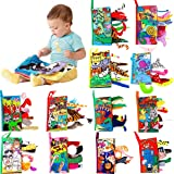 3D Animals Tails Cloth Book Funny Cartoon Baby