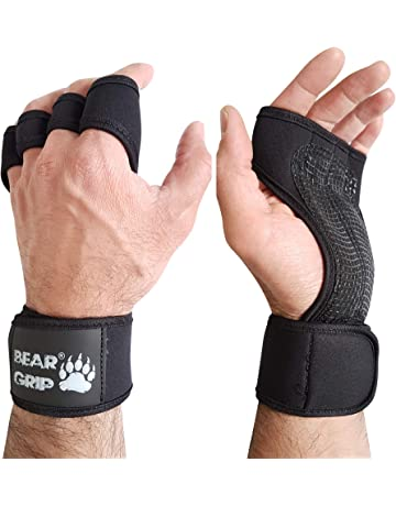 """WORKOUT COW LEATHER GLOVES,WITH EXTRA WRIST STRAP  /""""THREAD R BRAND"""