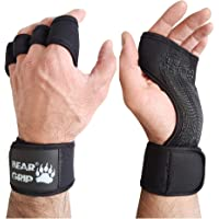 BEAR GRIP - Open Workout Handschoenen voor Crossfit, Bodybuilding, callisthenics, Powerlifting