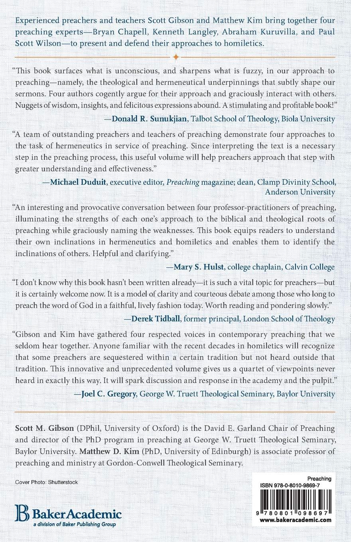 Homiletics and Hermeneutics: Scott M  Gibson, Matthew D  Kim