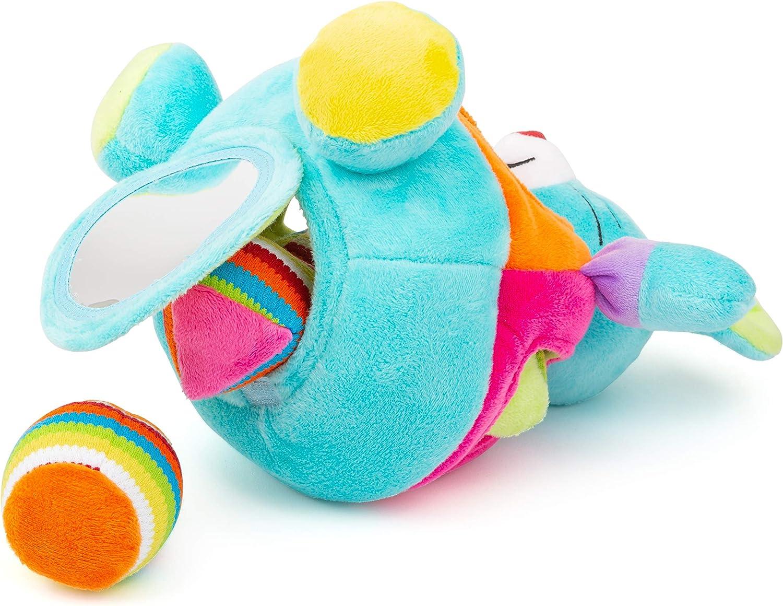 juguetes Juego de motricidad con Funciones de sonajero y Sonido Small Foot Multicolor color//modelo surtido Small Foot Company- Rat/ón Felpa para ensartar 11419