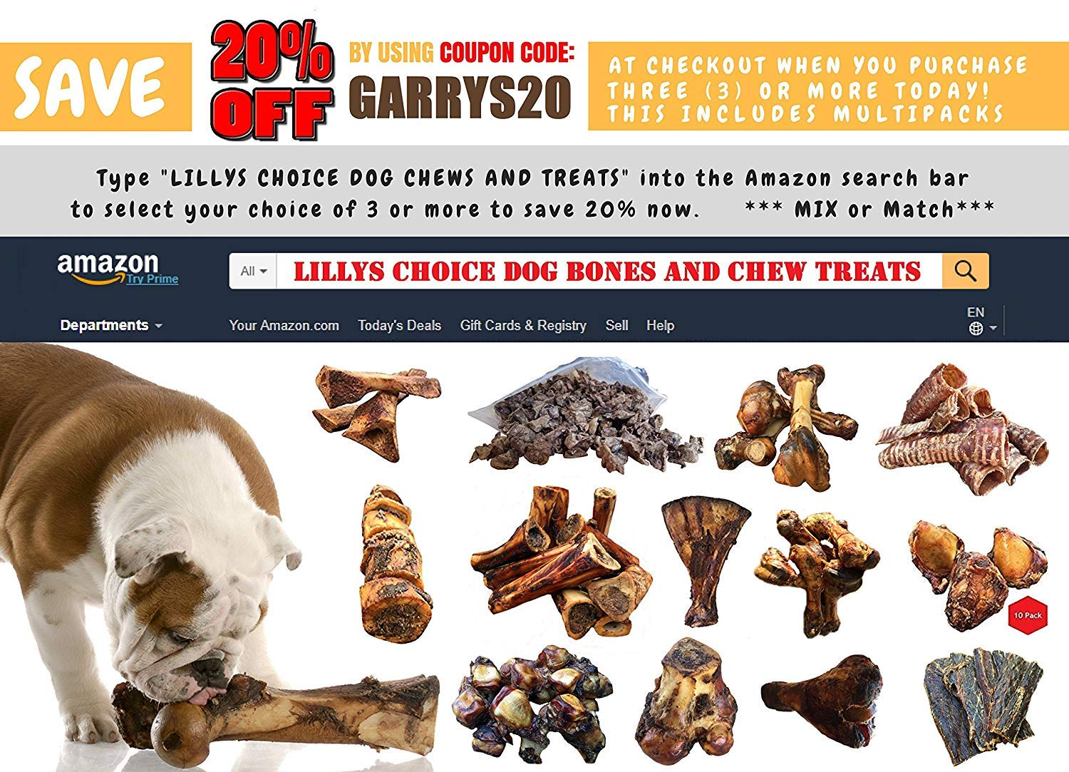 K9 Connoisseur Formerly Lillys Choice Dog Bones Made In USA For Small Breed Dogs All Natural Meaty Beef Chew Treat Bone Harvested From Grass Fed Cattle Best For Puppies Up To 15 Pounds