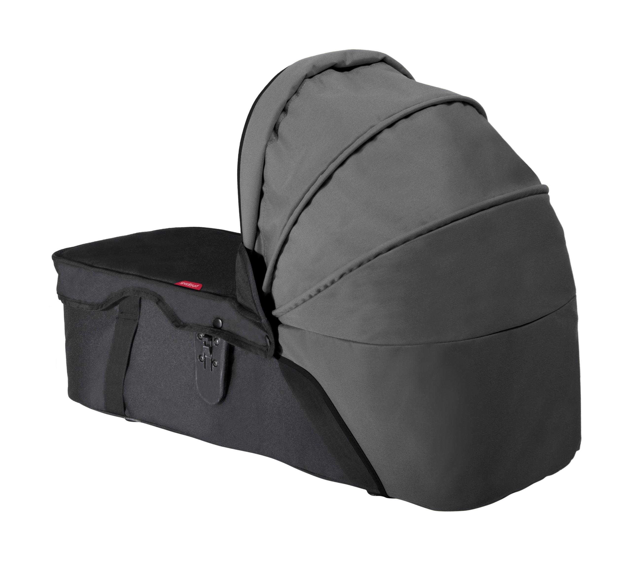 phil&teds Snug Carry Cot Sunhood - Flint